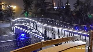 Ankara'da Kar  12.12.2018