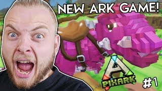 IS THIS THE BEST DINOSAUR GAME?! - PIXARK!! #1