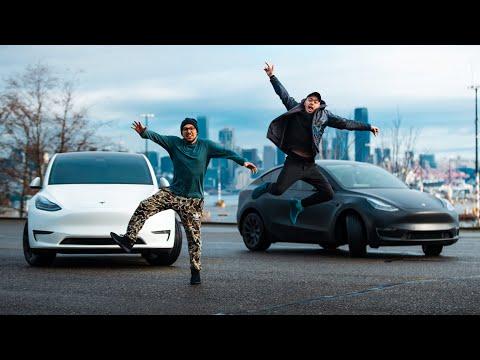 Tesla Doesn't Make Slow Cars - Model Y Drag Race