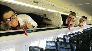15 Dinge - Die Du Im Flugzeug Nicht Machen Solltest!
