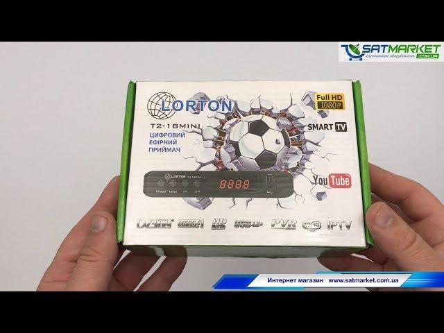 Видео обзор LORTON T2-18 HD MINI