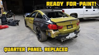 Rebuilding A Wrecked 2016 BMW M4 PART 2
