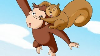 Curious George 🐵George and Jumpy The Squirrel🐵Compilation🐵 HD 🐵 Videos For Kids