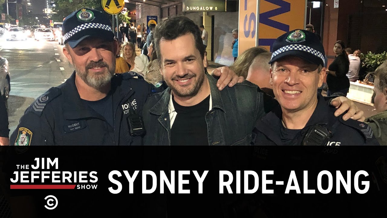 Going on a Ride-Along with the Australian Police