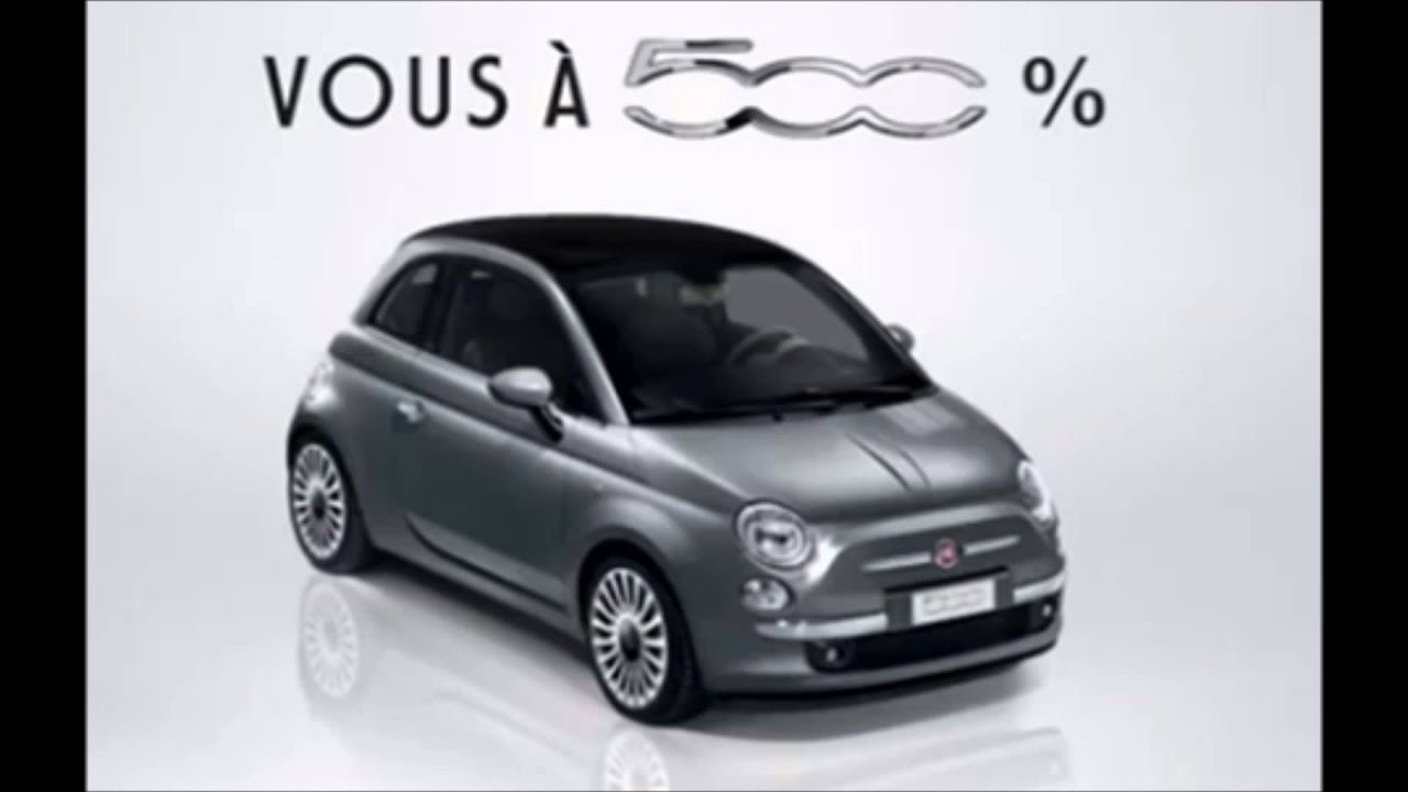 musique pub fiat 500 2013 youtube. Black Bedroom Furniture Sets. Home Design Ideas