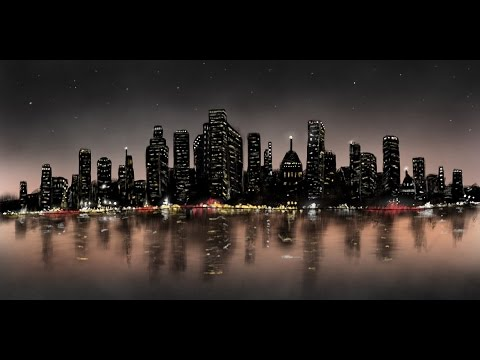 iPad Pro + Procreate beginner Tutorial: How to draw City ...