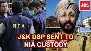 Davinder Singh, 3 Others Sent To 15 days' NIA Custody