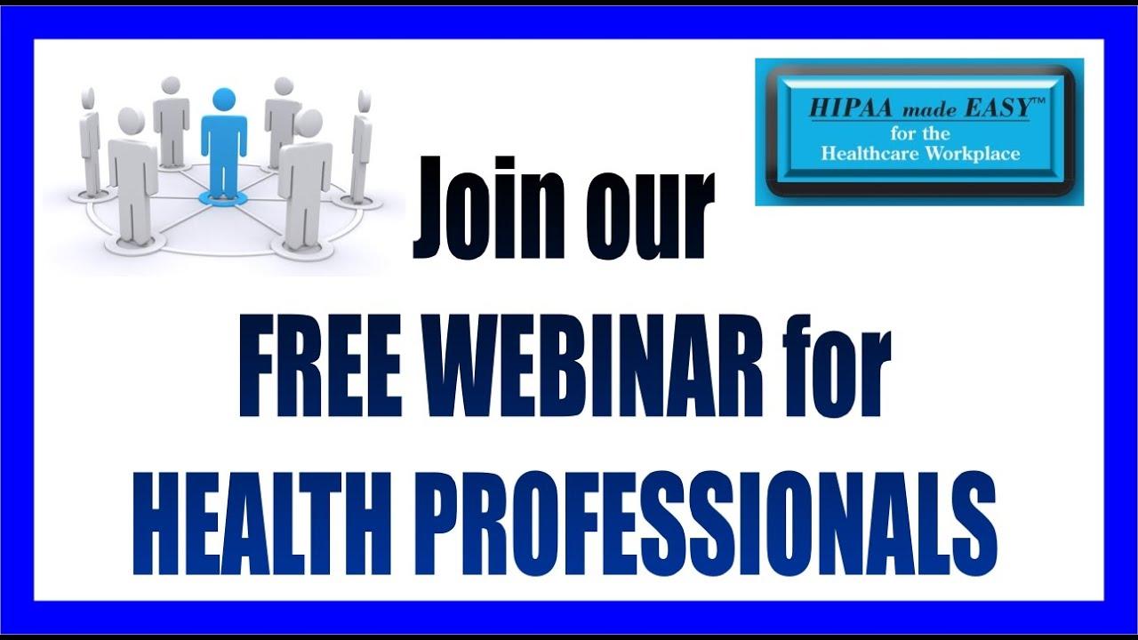 Free Webinar Hipaa Made Easy Understanding The New Hipaa Omnibus
