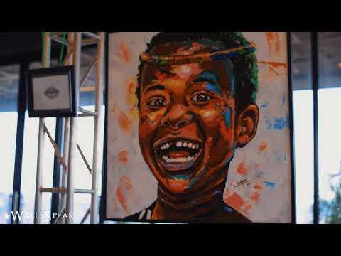 Walls Speak exhibition by Wonder Art Gallery at Kingdom Kampala 2019