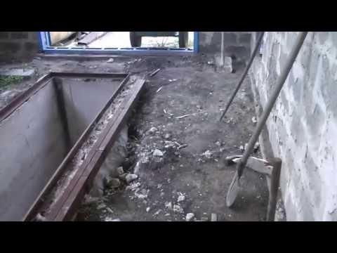Постройка и заливка стапеля ( 1 часть)
