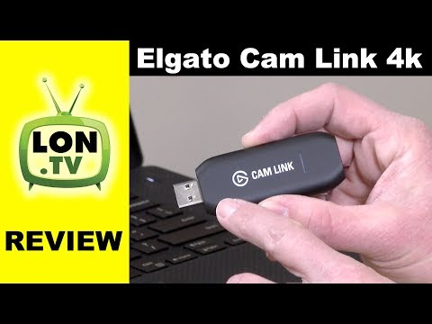 Elgato Cam Link 4k Review - Turns any HDMI device into a