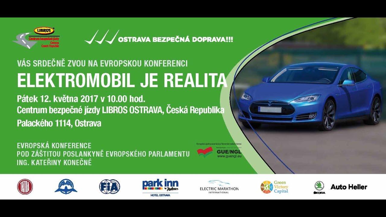 Libros Ostrava - EVROPSKÁ KONFERENCE - ELEKTROMOBIL JE REALITA
