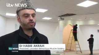 ITV: Khalifa of Islam Ahmadiyya attends opening of new Mosque in Leicester UK