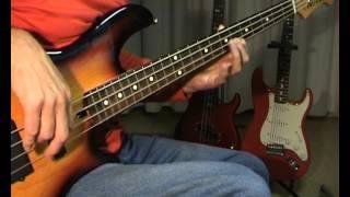 Bert Weedon - Guitar Boogie Shuffle - Bass Cover