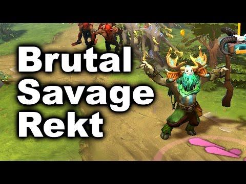 Alliance Fnatic - Brutal Savage Rekt - 1-27 Final Manila Major Dota 2