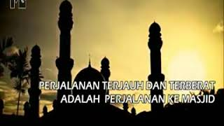 Video Perjalanan terjauh & terberat adalah KE MASJID download MP3, 3GP, MP4, WEBM, AVI, FLV Oktober 2019