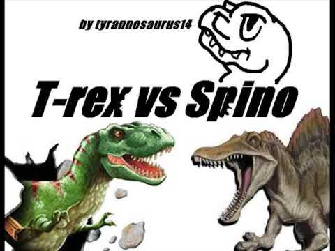 Spinosaurus vs t Rex Drawing Rex vs Spinosaurus