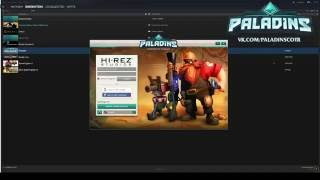 Не запускается Paladins : The Hi-Rez Studios Authenticate and Update Service must be installed
