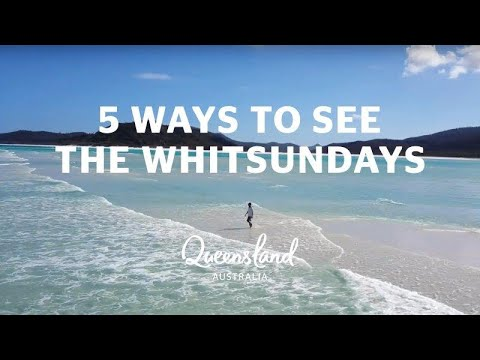 5 ways to see the Whitsundays
