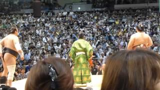 大相撲名古屋場所九日目、最初の取組があまりにもきわどい一番だったの...