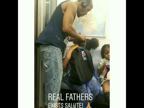 Joey Brooks - Dad Fixes Daughter's Hair On Subway