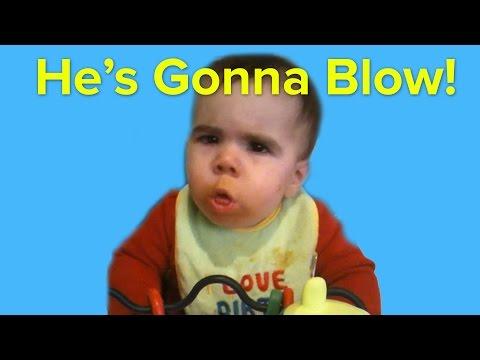 26 Babies Vomit In 60 Seconds
