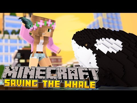Minecraft - Little Kelly Adventures : SAVING THE WHALE! (Free Willy)