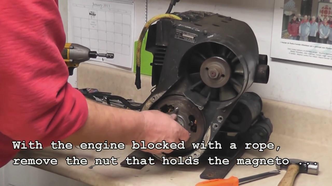 440 Rotax Engine rebuild part 01