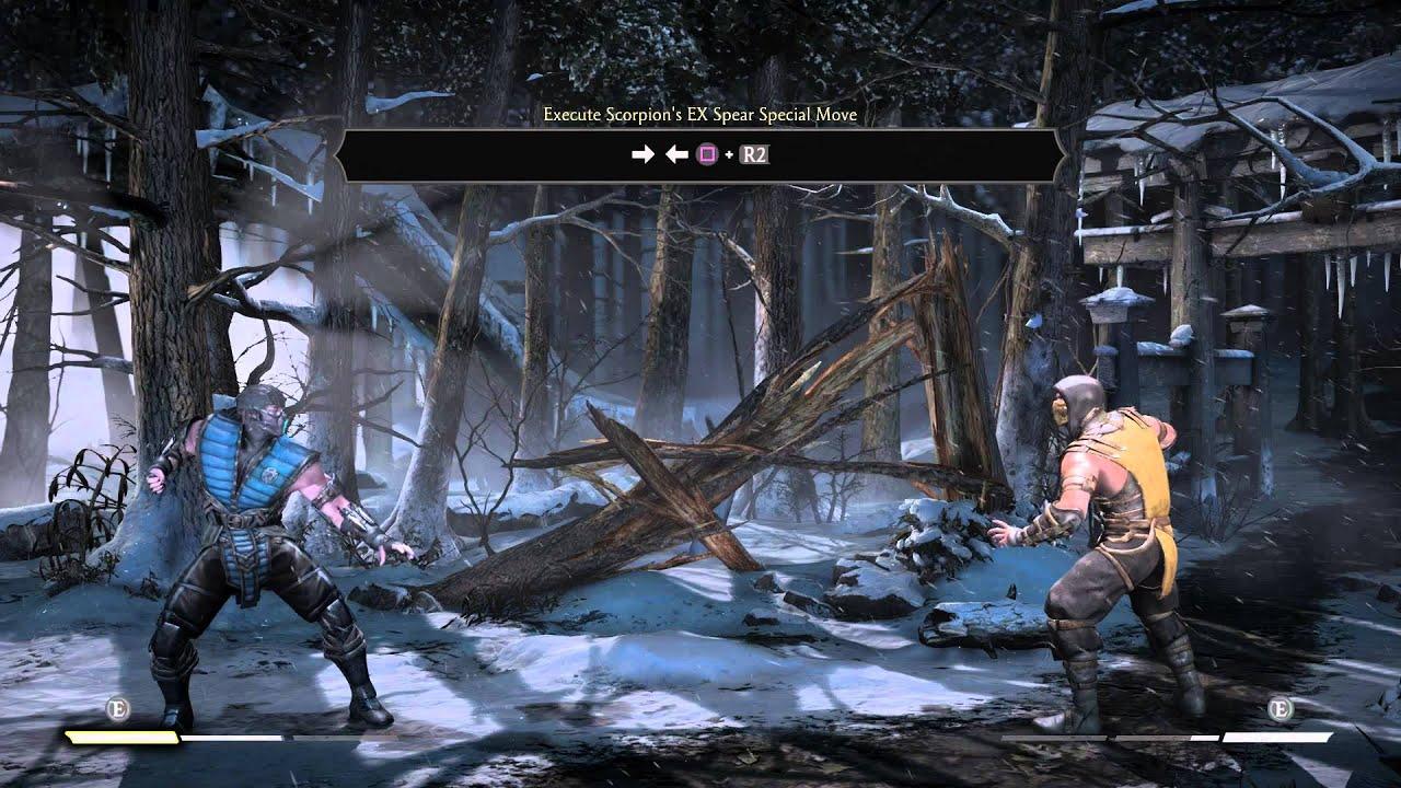 Mortal Kombat X Training Tutorial Basics Execute Super Meter