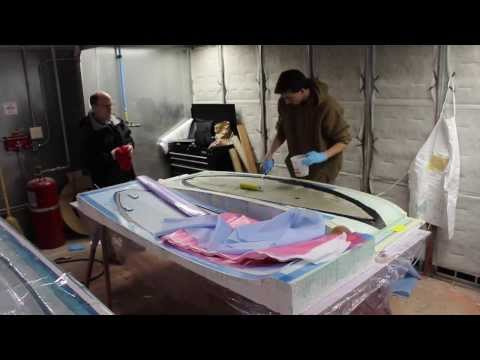 Student Video: Time Lapse of Carbon Fiber Surfboard Fabrication