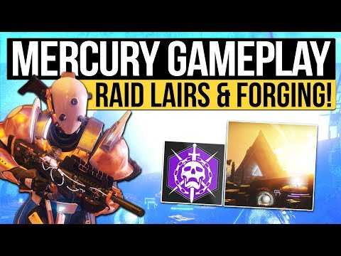 Destiny 2 | DLC RAID CONFIRMED! - Mercury Gameplay, Weapon Forging, Lighthouse Engrams & Prologue!