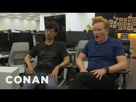 "Conan Visits The Offices Of ""Death Stranding"" Creator Hideo Kojima - CONAN on TBS"