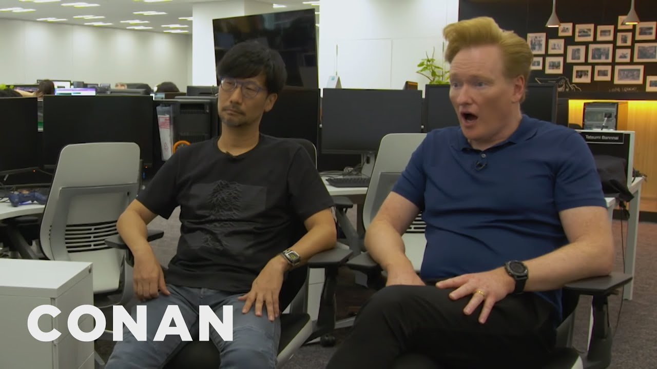 "Conan Visits The Offices Of ""Death Stranding"" Creator Hideo Kojima – CONAN on TBS"