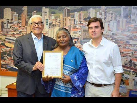 Embaixadora da Guiné-Bissau no Brasil visita Marília - SP Brasil