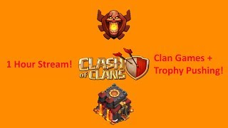 Clash of Clans - Update Gameplay! Continuing The Champion Push (Clan Games on Friday if Available)