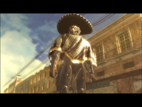Let's Play Metal Gear Rising Revengeance Part 6: Just a Box...With a Sombrero (HD)