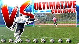Die ULTIMATIVE FREISTOß Challenge VS den BESTEN YouTube FUßBALLER 🔥⚽