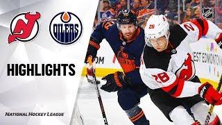 nhl-highlights-devils-oilers-11-08-19
