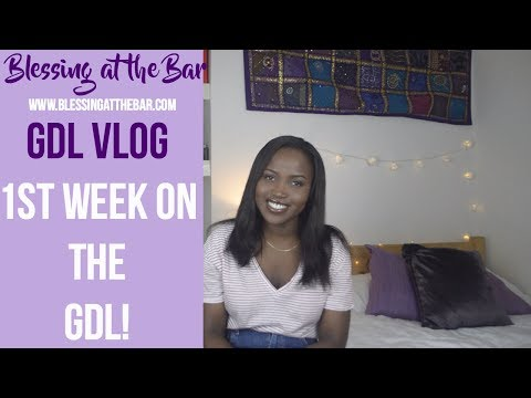 GDL VLOG – First week on the GDL | First impressions | Regrets? | BLESSING AT THE BAR