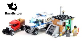 Lego City 60048 Police Dog Unit - Lego Speed Build