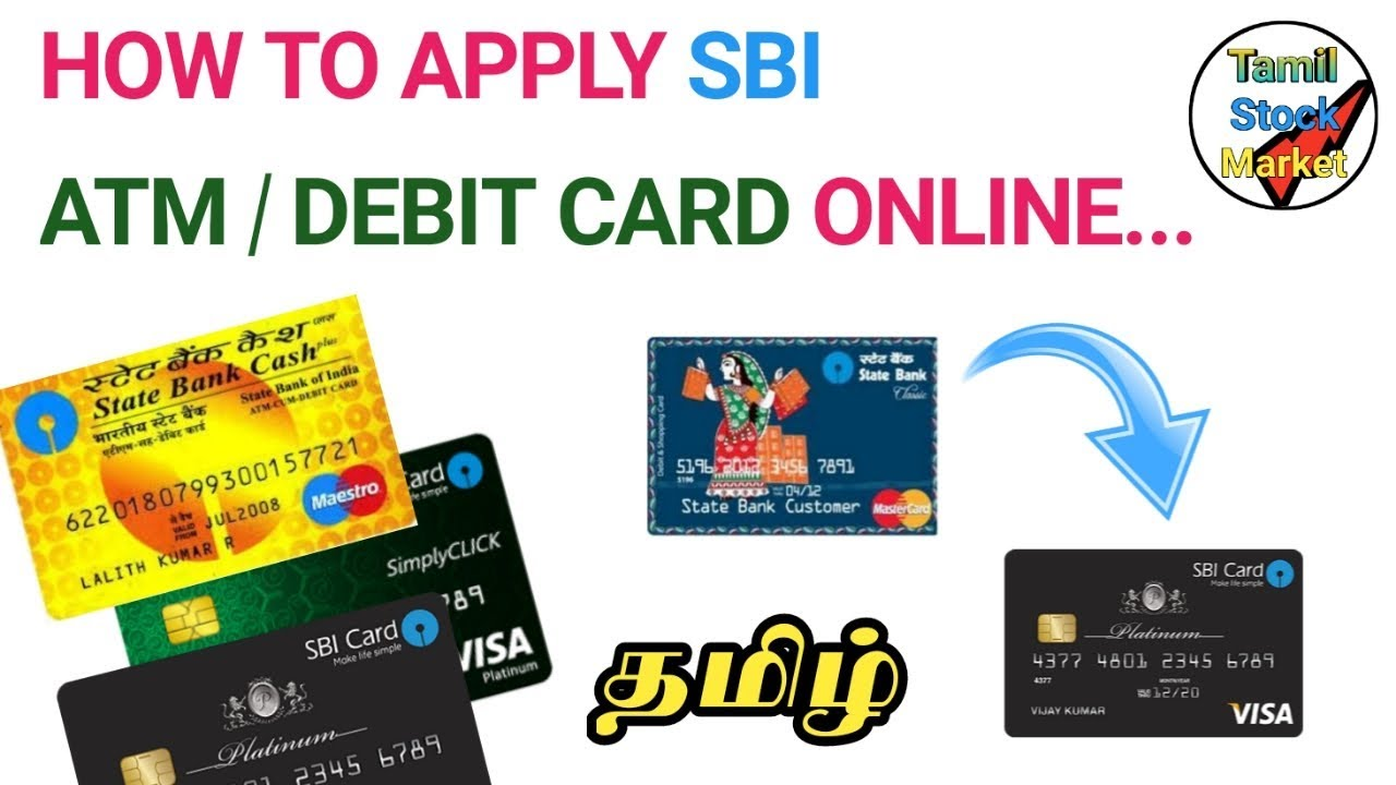 how to online apply for sbi atm card