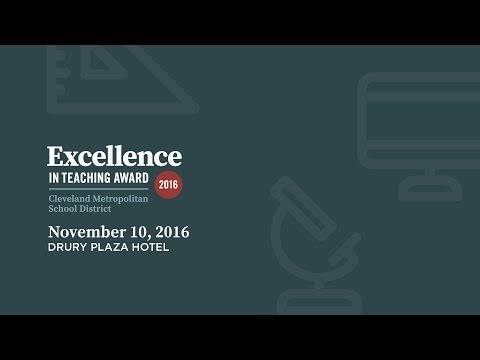 Excellence in Teaching Award Ceremony 2016