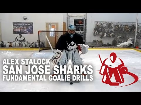 Stalock San Jose Sharks Fundamental Goalie Drills