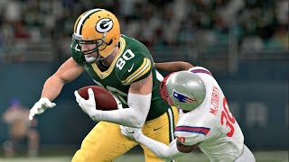 Madden 20 - Super Bowl XXXI Rematch New England Patriots vs Green Bay Packers - Madden NFL 20