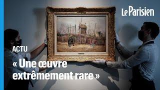 Cent ans plus tard, un tableau de Van Gogh réapparaît aux enchères