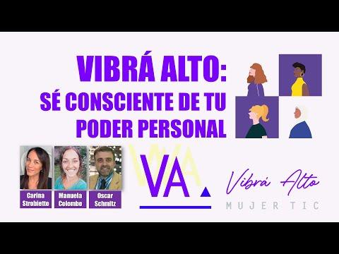 🎙️ Entrevista a VibraAlto MujerTIC 💪🤩 Sé consciente de tu poder personal 🚀