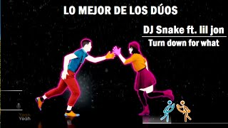 DJ Snake ft. lil jon - Turn down for what - Mashup (lo mejor de los duos)