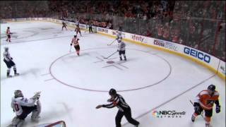 Maxime Talbot goal 4-0 Feb 27 2013 Washington Capitals vs Philadelphia Flyers NHL Hockey