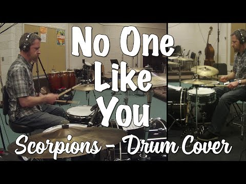 Scorpions - No One Like You Drum Cover