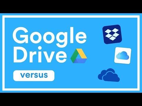 Google Drive vs iCloud vs Dropbox vs OneDrive | Pricing